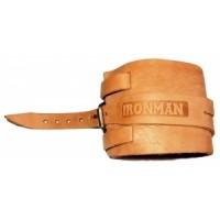 Напульсник кожаный IRONMAN №1 (НК01)