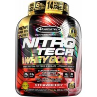 NITRO-TECH 100% Whey Gold (1130г)