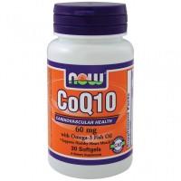 CoQ10 60mg+Omega-3 (30капс)