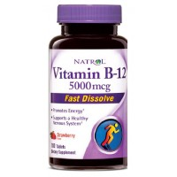 Vitamin B-12 Fast Dissolve 5000 мкг (100таб)